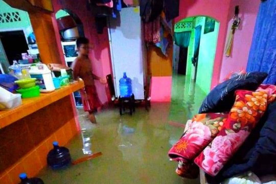 Banjir kembali landa Kota Tanjungpinang Kepri