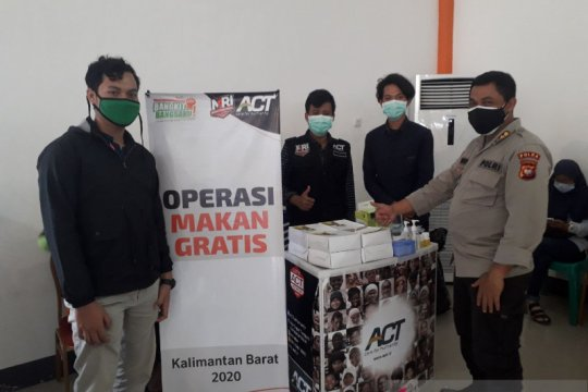ACT dan Rumah Zakat sediakan makanan gratis di Posko Antem Mortem