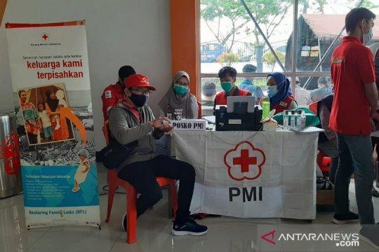 PMI beri dukungan psikososial keluarga korban kecelakaan Sriwijaya