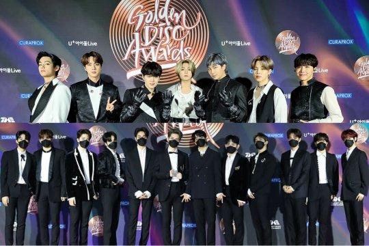 BTS, TREASURE, GOT7 dan para pemenang Golden Disc Awards hari kedua