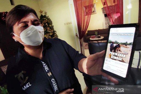 Di tengah kepasrahan keluarga korban Sriwijaya tersembul asa keajaiban
