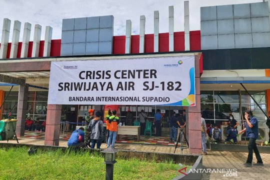 Sriwijaya Air jatuh, Bandara Soetta dan Supadio buka Crisis Center