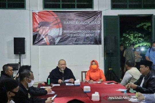 DPD bahas isu ketersediaan pupuk dalam rapat konsolidasi wilayah barat