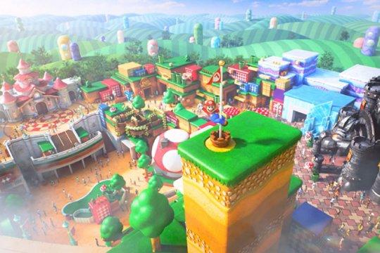 Jalan-jalan virtual ke Super Nintendo World Jepang