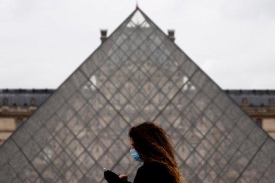 Dampak virus corona, jumlah pengunjung museum Louvre turun 72 persen
