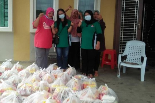 APMI Malaysia antar sumbangan ke anggota terdampak banjir