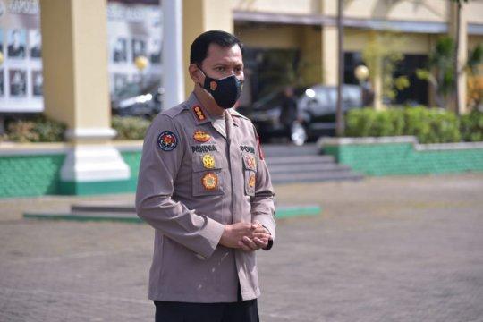 Polda Lampung berikan pendampingan psikologis keluarga korban SJ-182