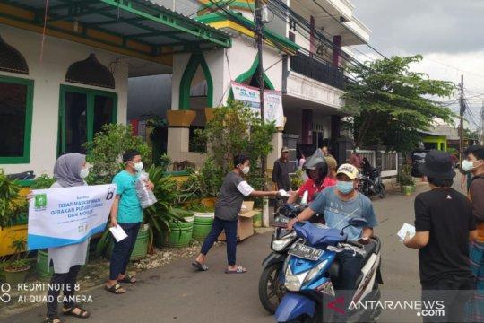 NU Jakarta libatkan remaja masjid salurkan ribuan masker di Jaktim