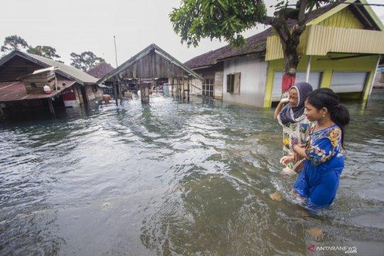 Banjir landa dua Kecamatan di Solok Selatan