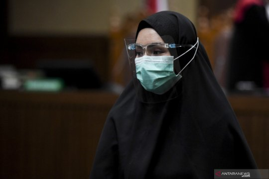 Jaksa tuntut Pinangki empat tahun penjara