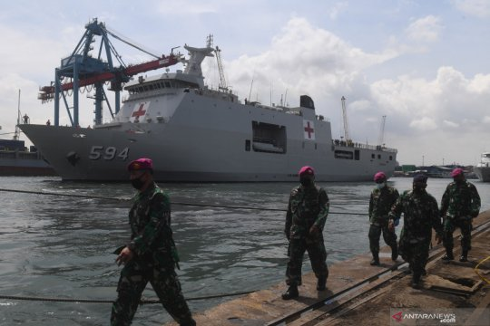 KRI Semarang disiapkan bantu pencarian korban Sriwijaya Air