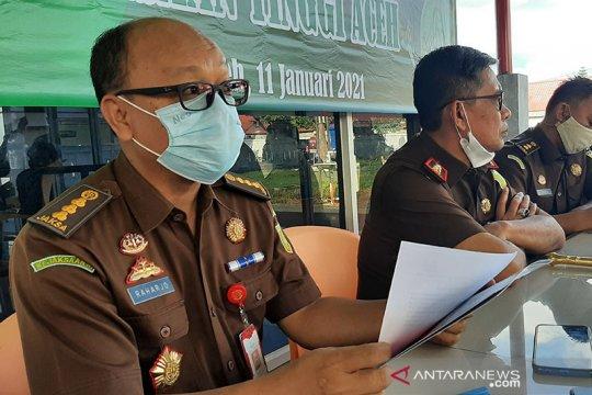 Kejati Aceh tetapkan empat tersangka korupsi pembangunan jalan