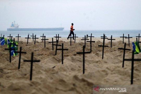 Brazil mendekati angka 250 ribu kematian COVID-19