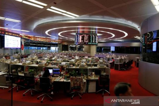 Saham Hong Kong dibuka melemah, indeks HSI turun 0,05 persen