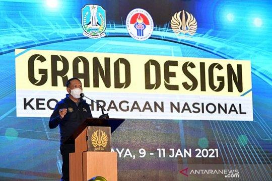 Indonesia segera punya Grand Design Keolahragaan Nasional