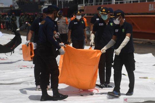 Basarnas temukan 10 kantong potongan tubuh penumpang dan pesawat