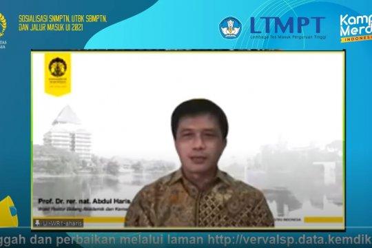 UI sosialisasi SNMPTN, SBMPTN, dan jalur masuk UI 2021