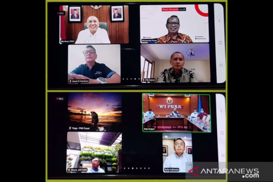 Ketua MPR dan Menkop UKM dukung HPN 2021 dilaksanakan secara virtual