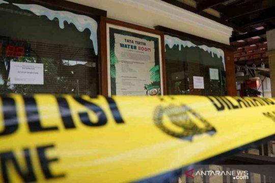 Polisi usut pelanggar protokol kesehatan Waterboom Lippo Cikarang