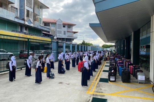 167 siswa asal Tawau-Malaysia melanjutkan studi ke Indonesia