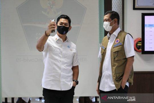 KOI dan Satgas COVID-19 libatkan atlet kampanyekan masker