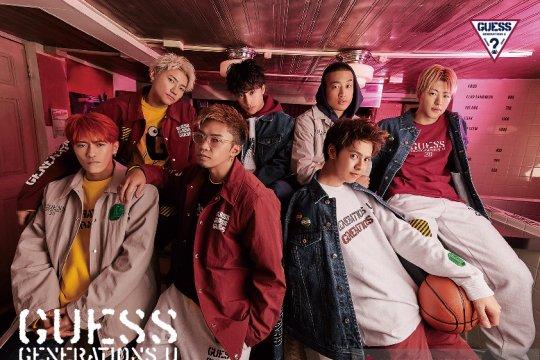 GUESS luncurkan kolaborasi bareng grup J-pop GENERATIONS