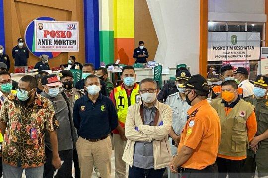 Gubernur: Sriwijaya secepatnya sampaikan data korban asal Kalbar