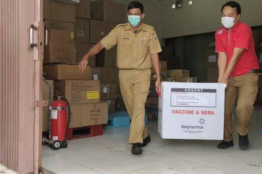 Lampung distribusikan vaksin COVID-19 ke tiga daerah