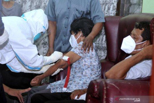 Tim DVI Polda Bali ambil sampel DNA keluarga pramugari Sriwijaya Air