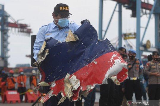 KNKT: Pesawat Sriwijaya SJ 182 tidak meledak sebelum jatuh ke laut