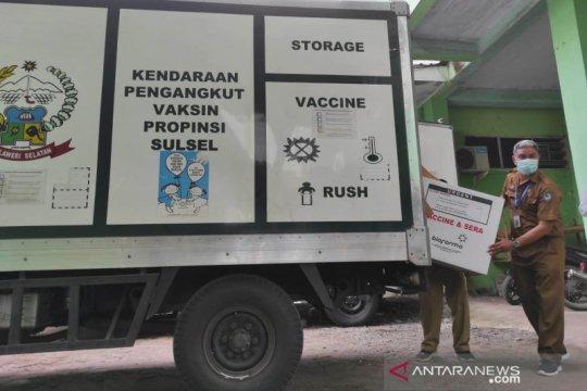 Vaksinasi tahap II siap menyasar 1,4 juta jiwa di Sulsel