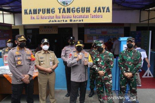 Kapolda Metro Jaya targetkan nol kasus COVID-19 di Tambora