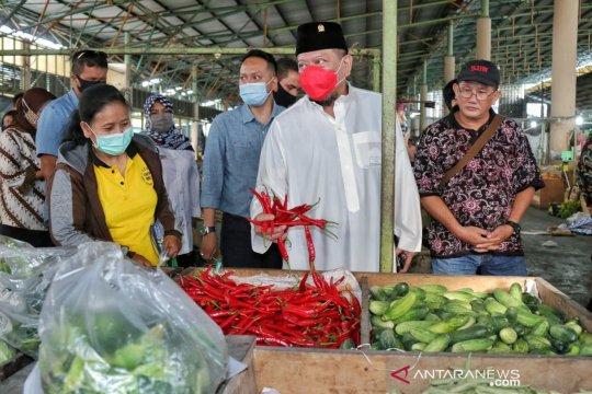 Pulihkan ekonomi, Ketua DPD dukung revitalisasi pasar rakyat