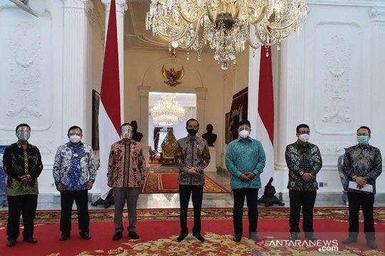 Presiden Jokowi bertemu dengan pengurus KAHMI