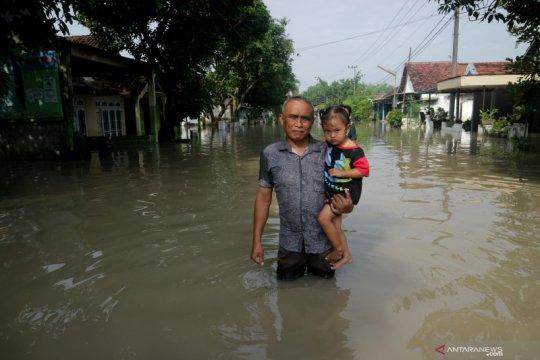 Banjir di Jombang belum surut sejak 1 Januari