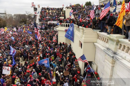 Trump akui bertanggung jawab sebagian atas kerusuhan Capitol