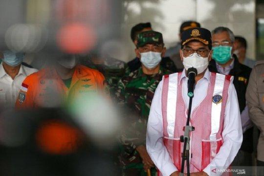 Menhub ungkap 3 instruksi Presiden Jokowi terkait jatuhnya SJ 182