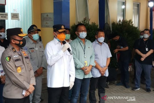 Menhub apresiasi kinerja RS Polri identifikasi korban Sriwijaya