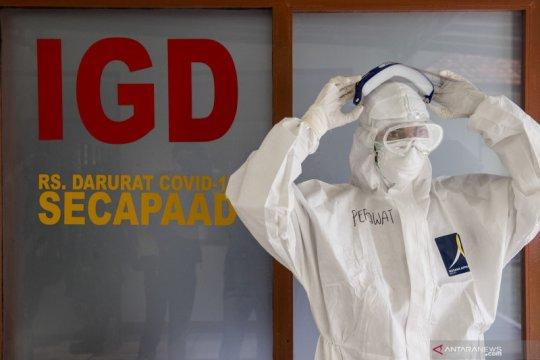 Keterisian ruang isolasi rumah sakit di Kota Bandung meningkat lagi