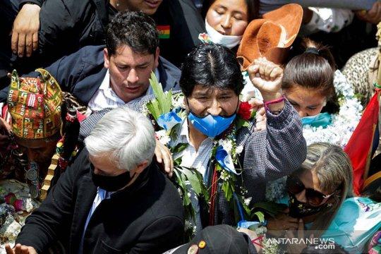 Mantan presiden Bolivia Evo Morales didiagnosis mengidap virus corona
