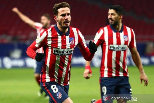 Liga Spanyol: Atletico Madrid puncaki klasemen sementara setelah kalahkan Sevilla