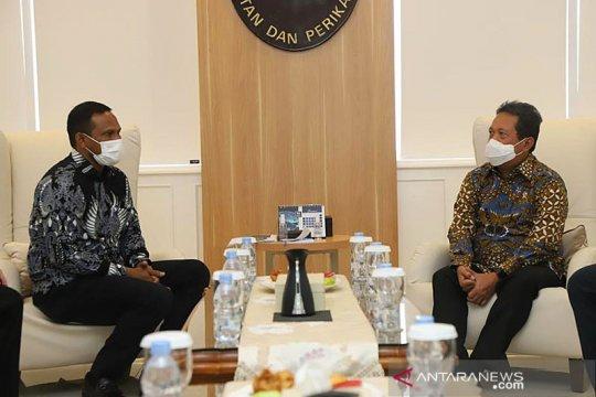 KKP - Pemda bakal bangun kawasan pangan udang di Aceh Timur