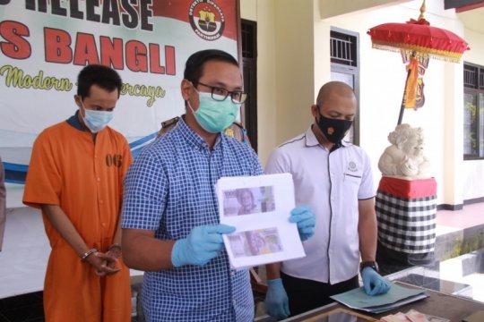Pelaku pengedar uang palsu di Bali terancam dihukum 15 tahun