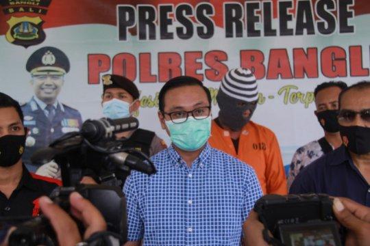 Polisi bekuk seorang penyelenggara judi sabung ayam di Bangli-Bali