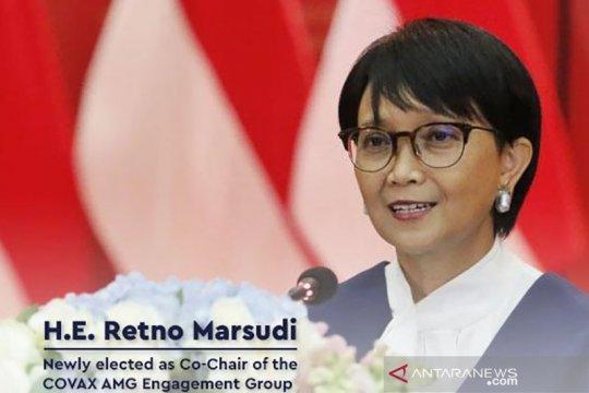 Menlu RI terpilih pimpin kerja sama vaksin multilateral COVAX AMC