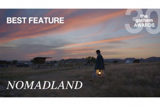 """Nomadland"", film fitur terbaik di Gotham Awards 2021"