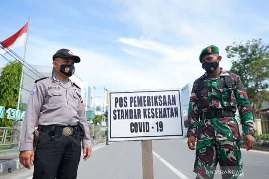 Razia masker di Gorontalo