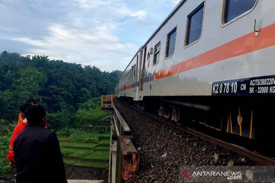 KAI terapkan jalur tunggal di lintas Linggapura-Bumiayu, ini sebabnya