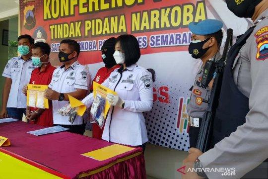 Polisi ringkus siswa SMK kurir sabu-sabu di Semarang