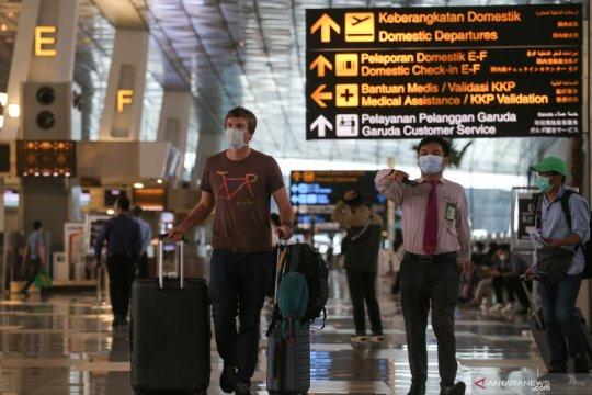 Bandara AP II batasi orang asing masuk Indonesia